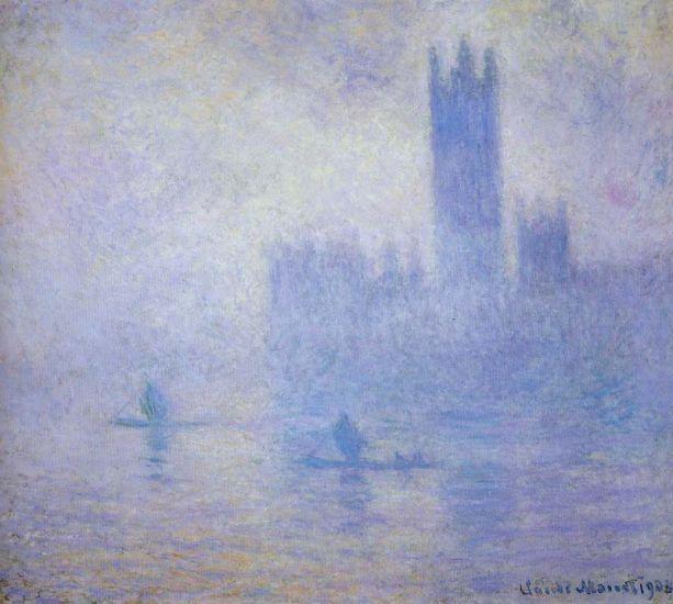 Monet - Le parlament